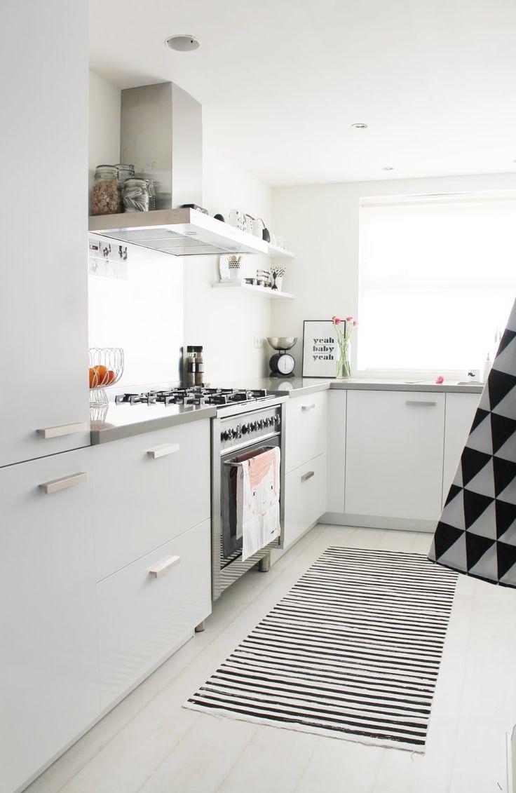 Meer dan 1000 idee n over scandinavische keuken op pinterest slaapkamers huizen en keukens - Scandinavische keuken ...