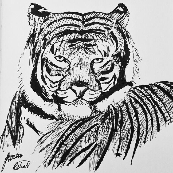 Ink tigress