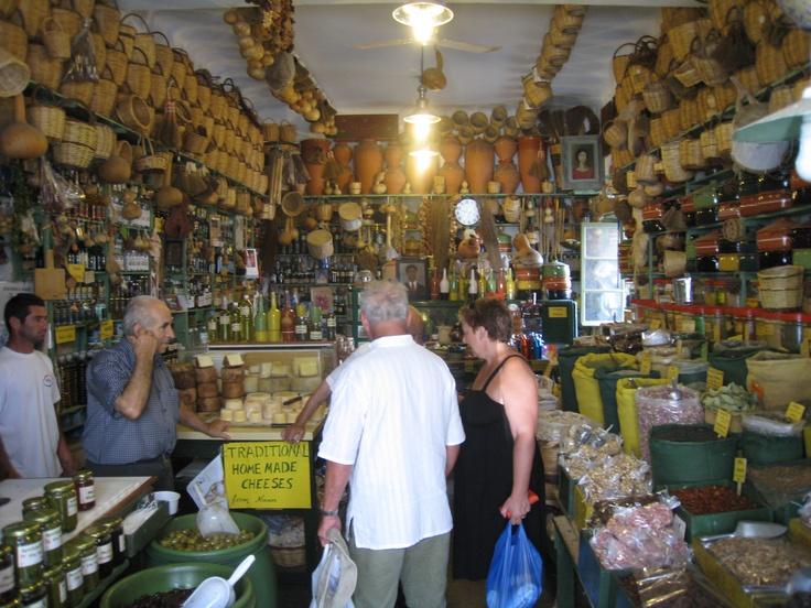 The spice shop. Naxos, Greece