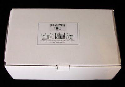 A bad witch's blog: Pagan Shopping: Wicca Moon Imbolc Ritual Box