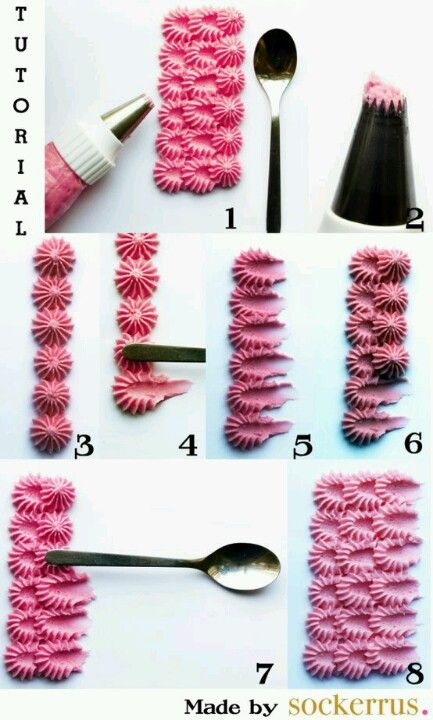 Icing Texture Tutorial - Cake Decorating Visit us @ http://www.myworld.hub7.info/cd/cake-decor-ideas-53 for more cake decor ideas.