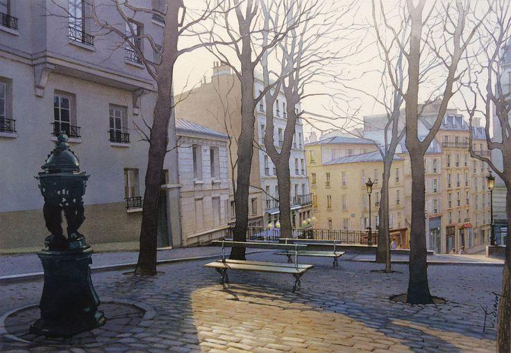 Crépuscule sur Montmartre