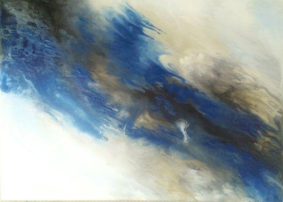 Guarda questo articolo nel mio negozio Etsy https://www.etsy.com/it/listing/481535362/handmade-contemporary-art-canvas-blue