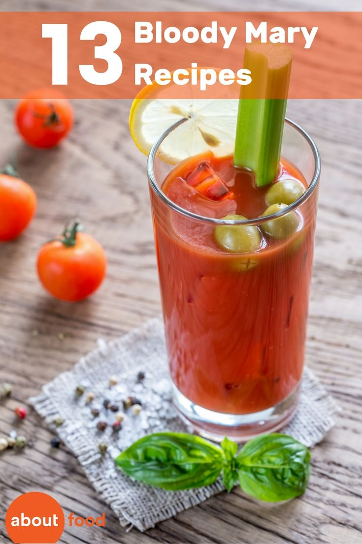 The 25 best bloody mary recipes ideas on pinterest for Top bar drink recipes