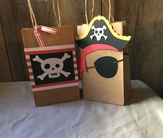 Check out this item in my Etsy shop https://www.etsy.com/listing/463662901/pirate-favor-bagspirate-goodie-bags