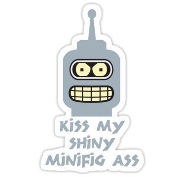 KISS MY SHINY MINIFIG A55 by Chillee Wilson from Customize My Minifig by ChilleeW