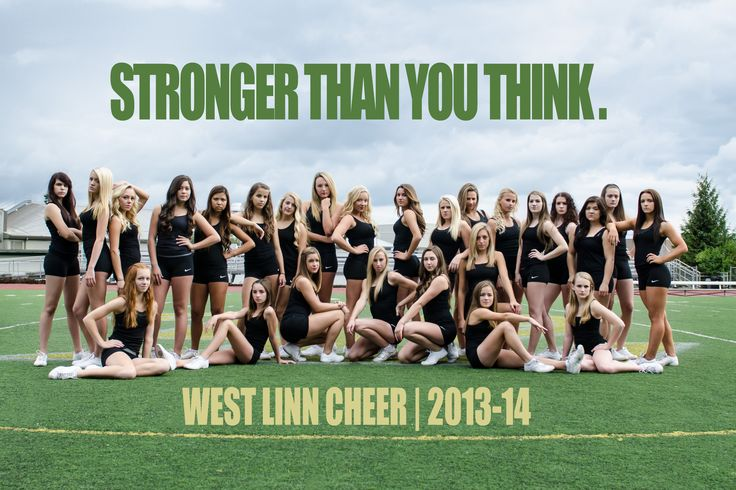 Last summer, I had the pleasure of shooting the West Linn Cheer squad's official team poster – and the woman I had to thank for that very fun gig was my incredible sister-in-law, Shanno…