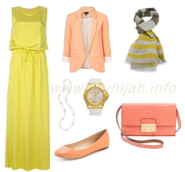 Yellow Hijab Outfit Combinations