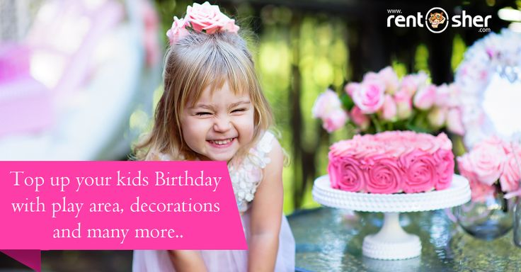 Kids Birthdays are happiest moments in everyone's life. Top up your little one's birthday party with #Balloon Decoration, #Playareasetup, #BouncyCastles, #Ballpits, #Birthday Party Decorations, Live Cartoon Characters, #Facepainting, Magician, Artists, Food vending Machines, #Slides and many more on rent at affordable cost with home delivery, setup and pickup across #Bangalore and #Delhi. Visit us today to explore more details: Bangalore: http://bit.ly/2ixMy5d Delhi: http://bit.ly/2iD6wyd