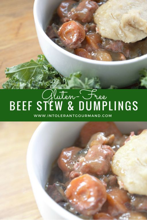 Beef Stew - a comforting, tasty and gluten-free dish, full of flavour! The perfect family meal that everyone will love! www.intolerantgourmand.com