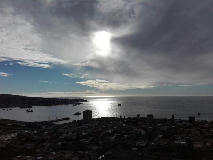 Bahía de Valparaíso,Chile