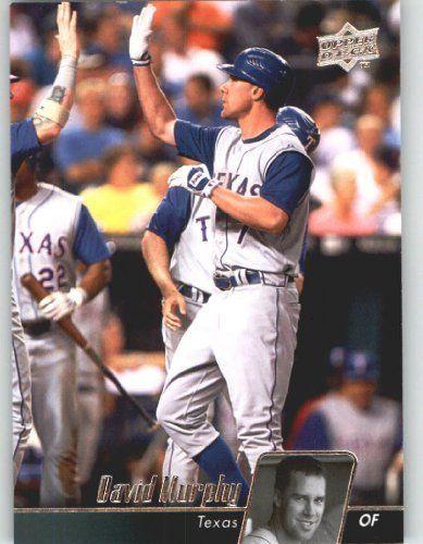 2010 Upper Deck Baseball Card # 493 David Murphy - Texas Rangers - MLB Trading Card by Upper Deck. $1.87. 2010 Upper Deck Baseball Card # 493 David Murphy - Texas Rangers - MLB Trading Card