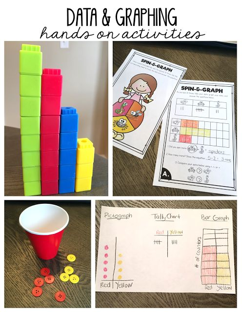 Fun and easy graphing activities for 1st grade!
