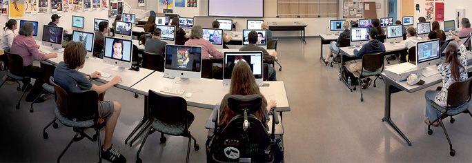 Graphic Design Classroom Broward College
