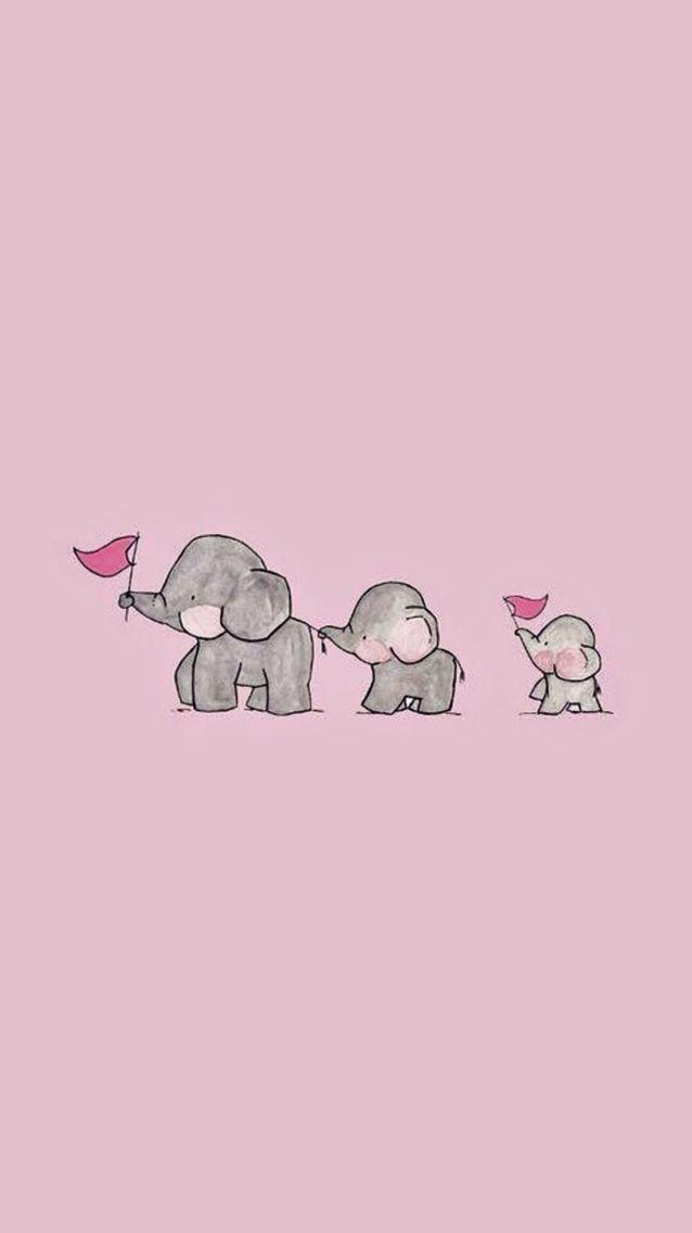 Cute Pink Wallpaper iPhone 638