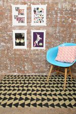 Black Arrow 3x5 Rug at Urban Outfitters
