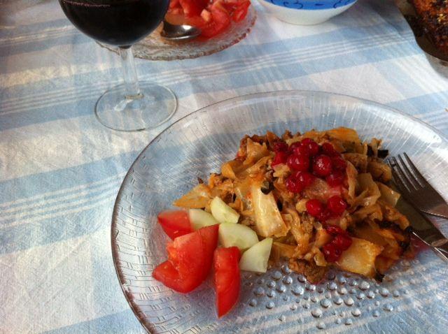 Syödään sesonkiruokaa: äidin kaalilaatikko www.ruokamenot.fi #ruoka #resepti #kotiruoka #finnishcuisine