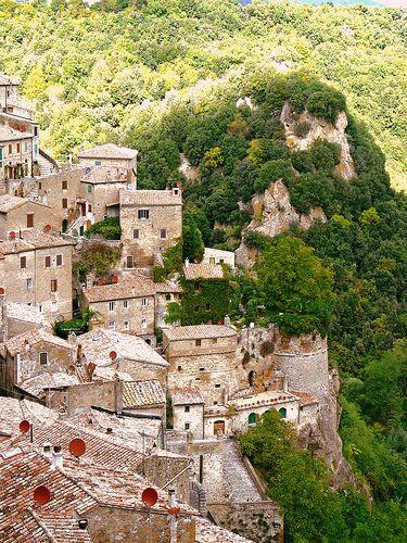 Sorano, Tuscany- Italy ♠ | Flickr - Photo Sharing!