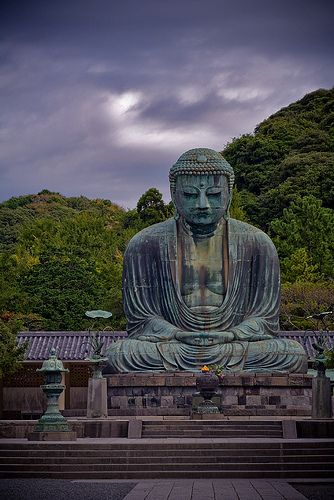 Kamakura, Japan: the Great Iron Buddha. I'm not Buddhist, but I love a good…