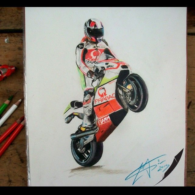 @yonny68 domare la bestia @iducati @pramacracing @motogp #artwork #pen #paint #moto #motorcycle #motorbike #motor #motorcycles #motogp #motosport #motolife #arte #instacool #instaart #instagood #amazing #good #like #life #me #ducatipic #nice #drawing #awesome #ducati #rock #love #style