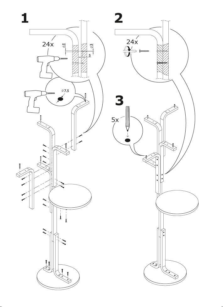 De cuando en cuando encuentro gente que reinterpreta a su manera las instrucciones de montaje de IKEA. Algunos llegan a extremos tan deliciosos como los que presenta Andreas Bhend, un estudiante su…