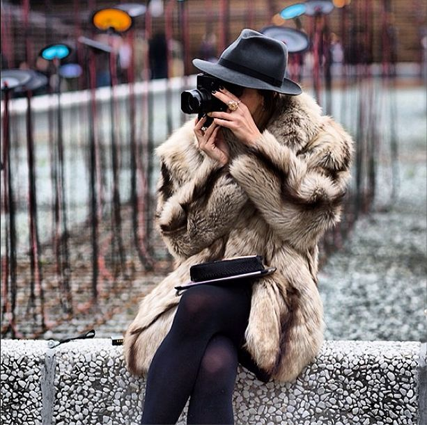 Fur coat and fedora Find a great fur coat in Toronto - visit the Yukon Fur Co. at http://yukonfur.com