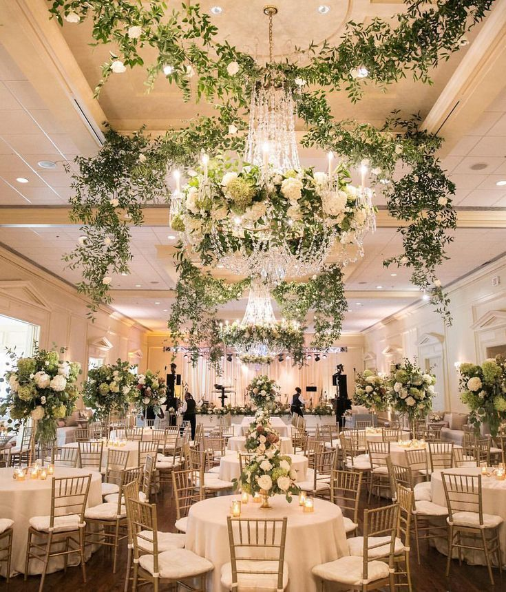 Greenery Chandeliers For Wedding 2019 Weddings Wedding Lighting Ideas Wedd In 2020 Indoor Wedding Receptions Wedding Reception Lighting Wedding Lighting Ideas Indoor