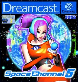 Space Channel 5 -  music video game developed by United Game Artists under the direction of Tetsuya Mizuguchi and published by Sega. During gameplay, the game characters perform a sequence of moves to the beat, such as steps and shots, which the player must reproduce with corresponding button presses. Michael Jackson makes a cameo appearance as Space Michael near the end of the game.