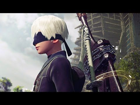 NieR Automata Trailer (PS4) - YouTube