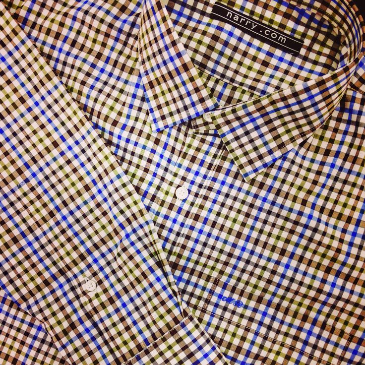 Checkered Shirt custom tailored by Narry tailor #checkeredshirt #customtailor