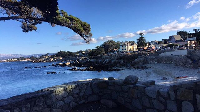 Views from Lover Point Beach #Monterey #PacificGrove #Beach #Trails #Sunday #Run #Fit #montereylocals #pacificgrovelocals- posted by Juan Estrada https://www.instagram.com/_juanes. See more of Pacific Grove, CA at http://pacificgrovelocals.com