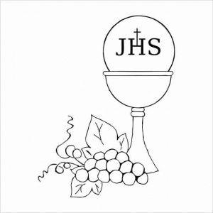 Stempel - JHS - Komunijny CraftyMoly