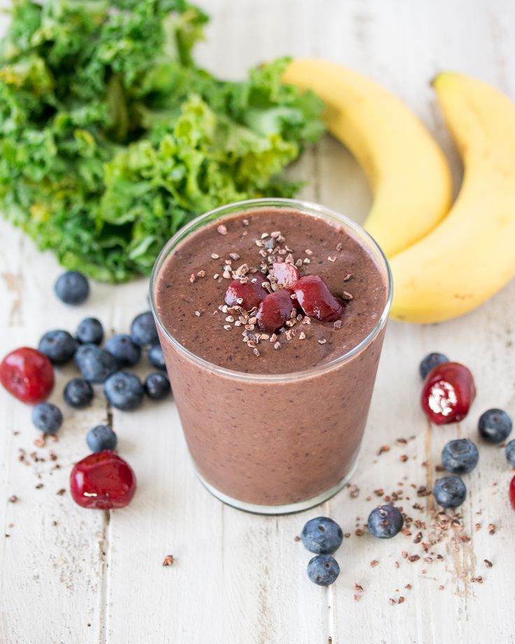 Cocoa Berry Smoothie I Jennifer Aniston Inspired Smoothie I Vital Proteins Collagen Peptides