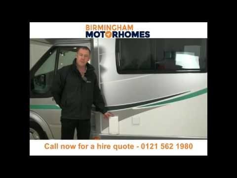 Motorhome hire and campervan rental Birmingham - Call 0121 562 1980