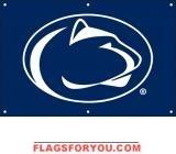 Penn State Nittany Lions Fan Banner 2' x 3'