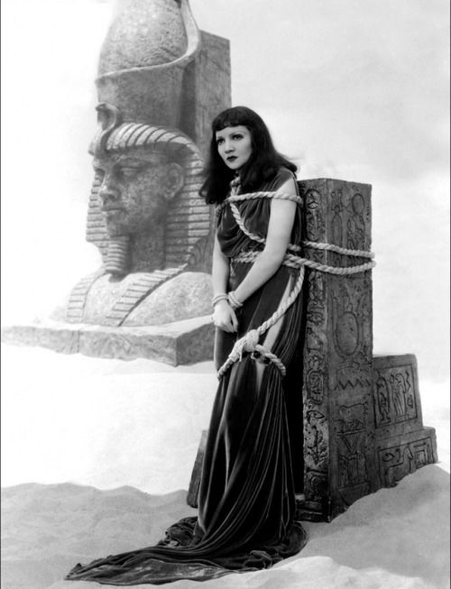 Cleopatra, 1934 by Cecil B. DeMille with Claudette Colbert as Cleopatra