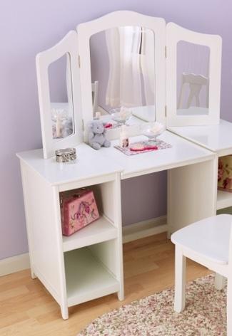 Make-up tafel voor de #kinderkamer | Make up table for the #kidsroom