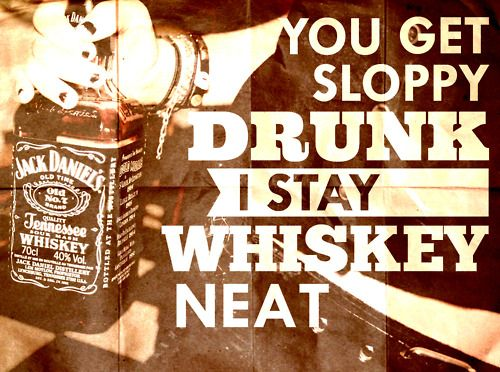 It's a party once tge whiskey comes out!