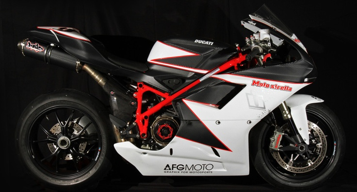 The first of a number of Carbon Lifeform tribute bikes, this AFG Moto built Ducati is currently gracing the tracks of Japan. Owned and campaigned by USAF SSgt Jeff McCreary, the CF 1198 features the usual slate of Italian performance mods (Marchesini, Brembo, Pirelli, etc) in addition to it's MotoStretta Japan motor work and J-Mac custom exhaust. Special thanks to Mark Boxer for the killer photos. http://www.rideicon.com/bikes/carbon-lifeform/