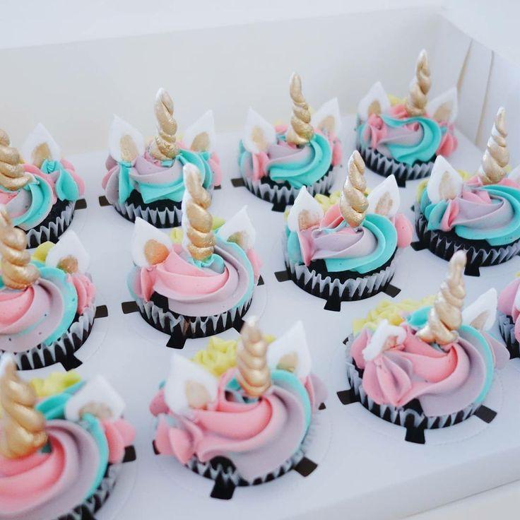Unicorn Cupcakes (unicorn cupcake ideas)
