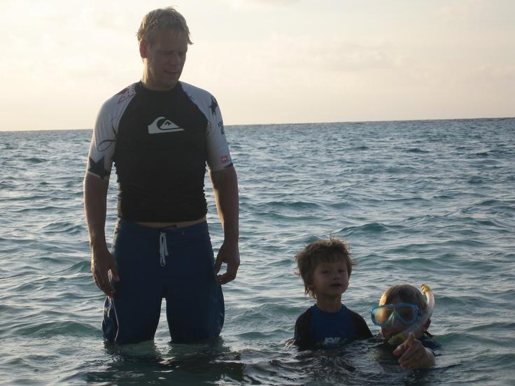 Sea Maldives with Mark and Leon