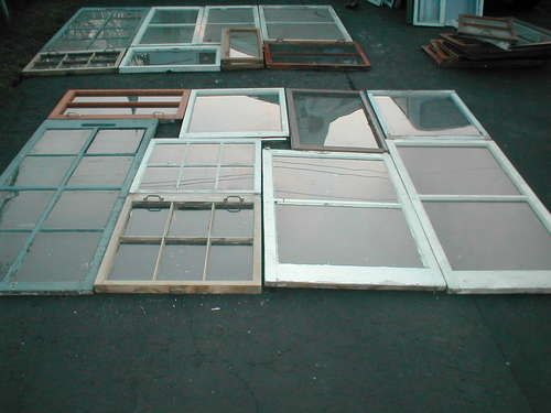 great instructions for diy green house with reclaimed windows and doors