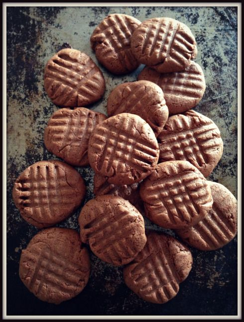 3 ingredient Nutella cookies. The Hungry Mum.