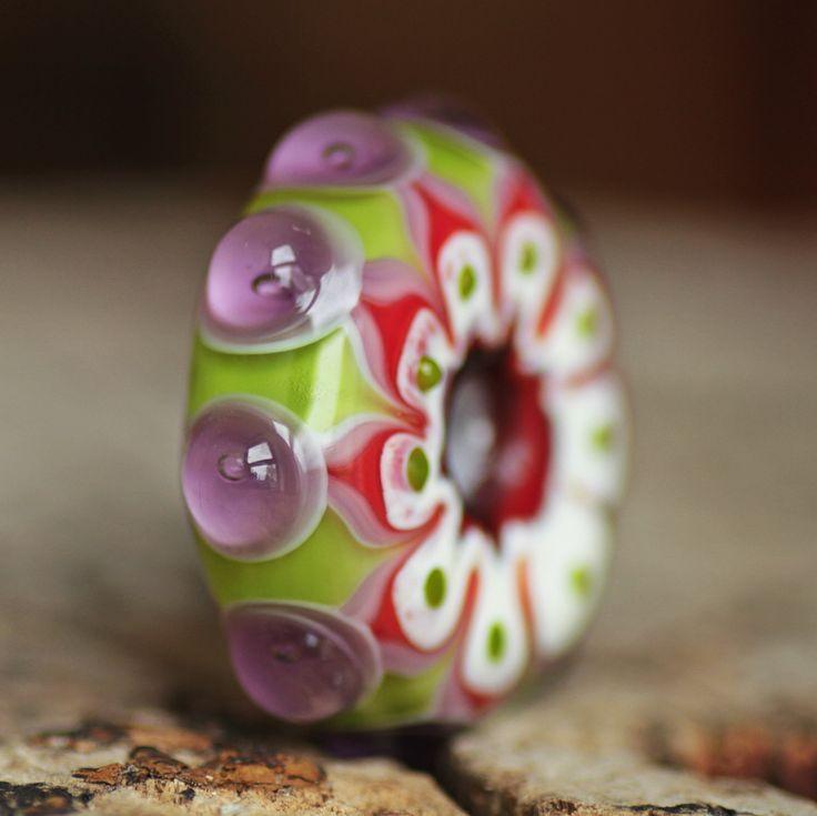 Lampwork bead disc