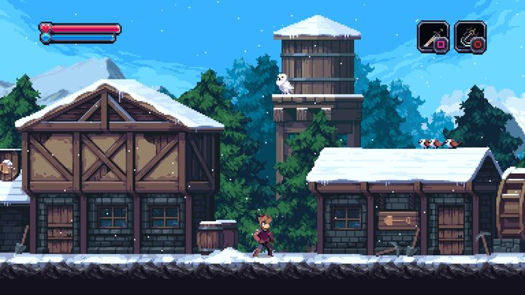 "pixelartus: "" Chasm System: PC (Windows, Mac, Linux), PS4 Status: In Development Release: TBA Developer: Discord Website: chasmgame.com / discordgames.tumblr.com Video: Trailer Description: ""Chasm is a procedurally-generated Platform Adventure..."