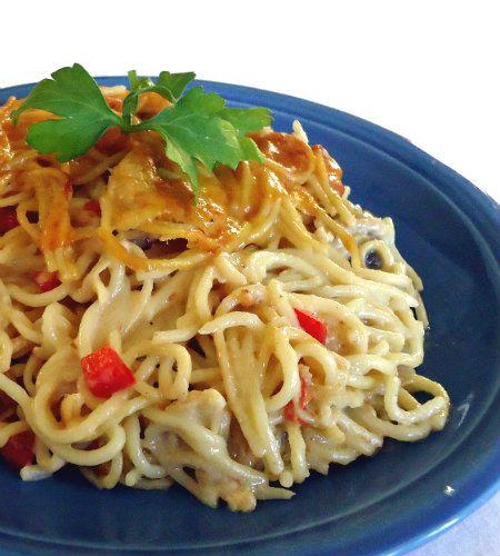 One Perfect Bite  Chicken Spaghetti