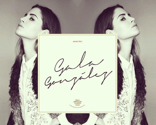 Gala González saca #disco, fresh from #Instagram