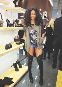 Teyana Taylor is working this look!