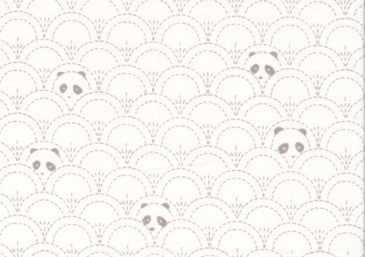 T2867 Trikå Hidden panda cottonbud