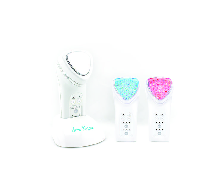 Light Therapy Facial Toning Machine! Red Light Therapy, Blue Light Therapy, Micro-current and Galvanic Treatments at a steal! @Skin Perfection